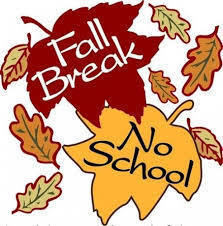 Fall Break - October 12th
