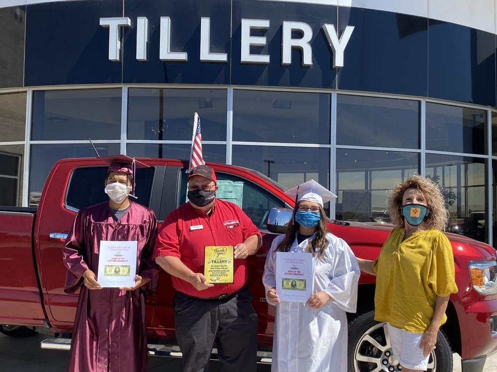 Tillery awards $1,000.00 Scholarships to BCS students