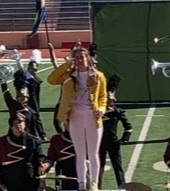 Drum Major Earns Top Honors