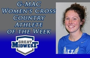 Former Eagle, Arena Lewis Named G-MAC Women's Cross Country Athlete of the Week